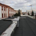 Cubierta transitable lastrada con losa filtrante - CHN, Pamplona